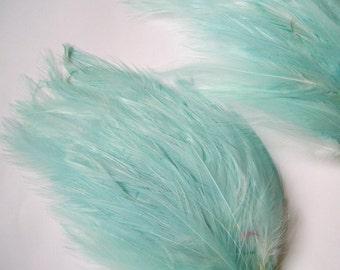 SET OF 5 - Seamist Hackle Feather Pads