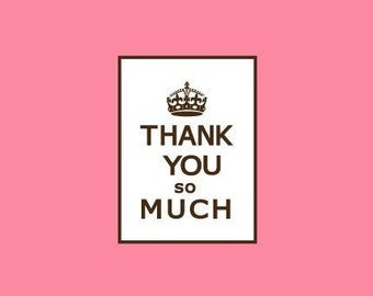Thank You Stamp   Keep Calm Stamp   Rubber Stamp   Craft Stamp   A39