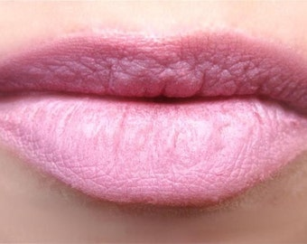 On Sale Organic All Natural Mineral Makeup Lip and Cheek color in Pink  Gluten Free  Non-Comedogenic and Acne Safe