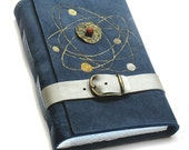 Outer Space - Suede Leather Journal