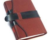 "Cinnamon Leather Blank Book - Handmade Journal - ""Keepsake Journal"""