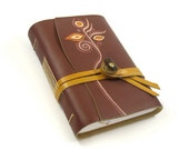 Leather Journal - Blank Book / Diary / Notebook / Journal - Tres Tres Chic
