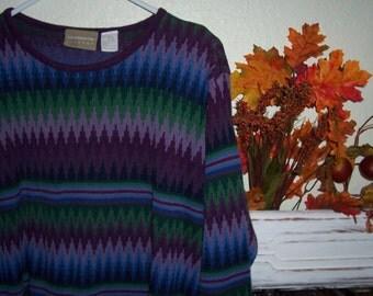 Vintage Liz Claborne Lizwear Sweater Size Large