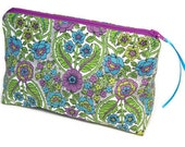 Bridesmaid Makeup Cosmetic Bag, Pencil Case, Zippered Pouch