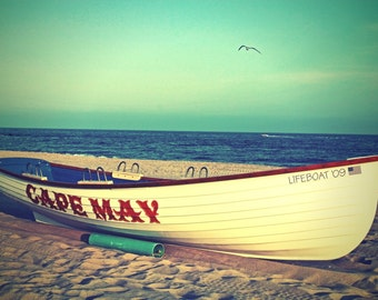 Cape May LifeBoat - 8x12 Fine Art Photography Print