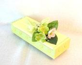 Lemon Lime Springtime Trinket Box, CLEARANCE - 50% Off