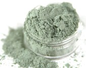 Spring - Green With Blue Undertones Vegan Mineral Eyeshadow - Handcrafted Makeup