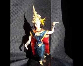 Vintage Thai Dancer Doll