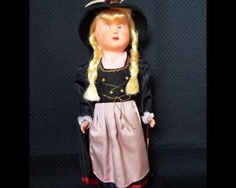 Vintage Ethnic Doll from Austria