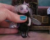 OOAK Fairy Ghost Halloween Gothic Doll Victorian Gail Lackey