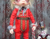 OOAK Victorian Gothic Macabre Ghost Doll by Gail lackey