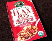 Nature's Path Flax Plus Red Berry Crunch Upcycled Notebook/Sketchbook
