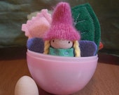 SALE Spring Fairy Playset in an Easter Egg
