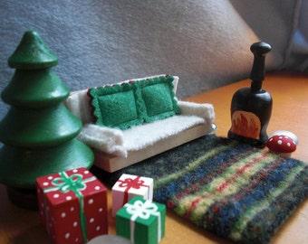 Gnome Sweet Home Christmas Living Room Set