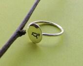 Sterling Silver Little Bird Ring