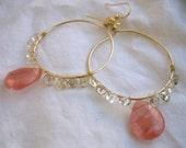 Darling Circle Earrings