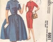 My Girl Lollipop Vintage 1960s McCall's Dress Pattern - Size 11