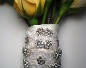 Chloe Crystal Bouquet Wrap