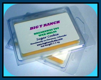 Sugar Cookie - Breakaway Melts Tarts- Highly Scented - Tarts