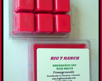 Pomegranate - Soy Breakaway Melts - Highly Scented - Tarts