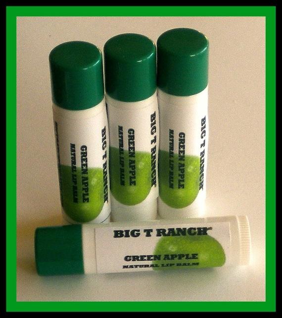 Lip Balm - All Natural - Green Apple