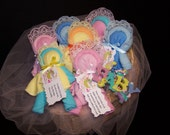 Baby Washcloth Baby Doll-Baby Shower Favors Gifts