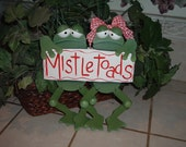 TOADALLY MISTLETOADS FROGS