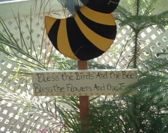 BUMBLE BEE GARDEN STAKE
