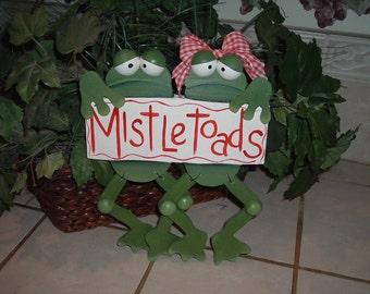 TOADALLY MISTLETOADS FROGS