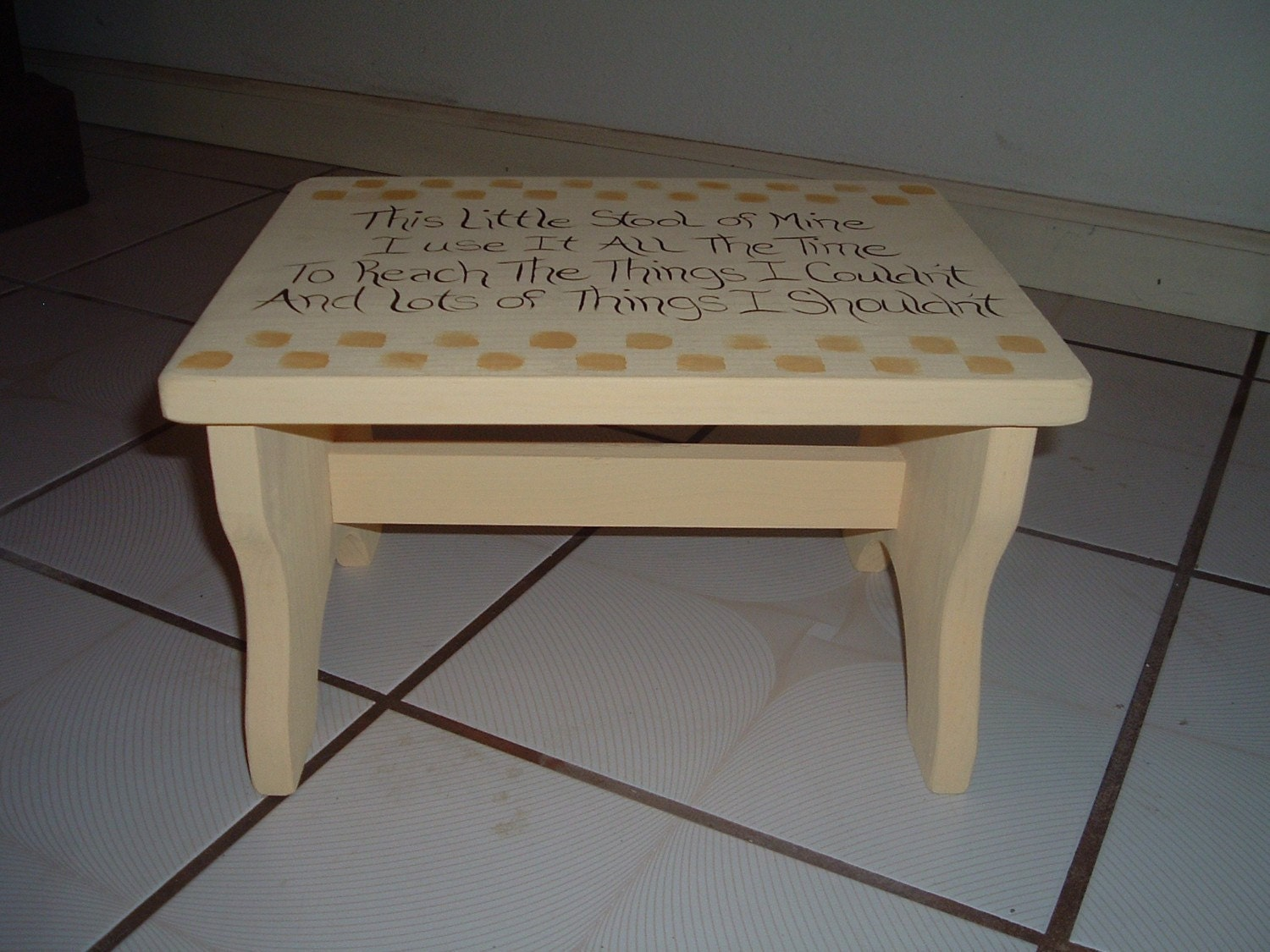 Amazing photo of Childs step stool This little stool of mine I use it all the by  with #806E4B color and 1500x1125 pixels