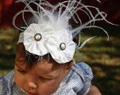 Headband Fancy white