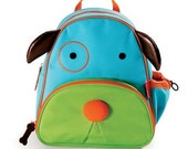 Personalized Skip Hop Backpack for Kids - Dog Zoo Pack