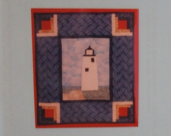 Nantucket's Great Point Lighthouse Wall Hanging Pattern