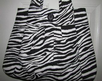 Sale - Zebra Purse