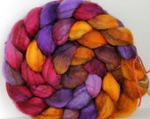 MAJESTY - Mixed BFL Hand Painted Roving - 4ozs