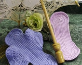 PATTERN Feminine pad, crochet your own sheer pad, stop to skin irritations, FREE SHIPPING