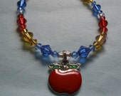 An Apple A Day - Snow White Inspired Bracelet