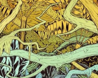 After (Jungle) Print