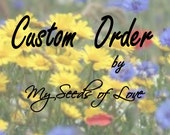 Custom Listing for TimeonMyHandsDesigns