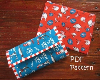 PATTERN for Changing Pad Clutch and Wet Bag