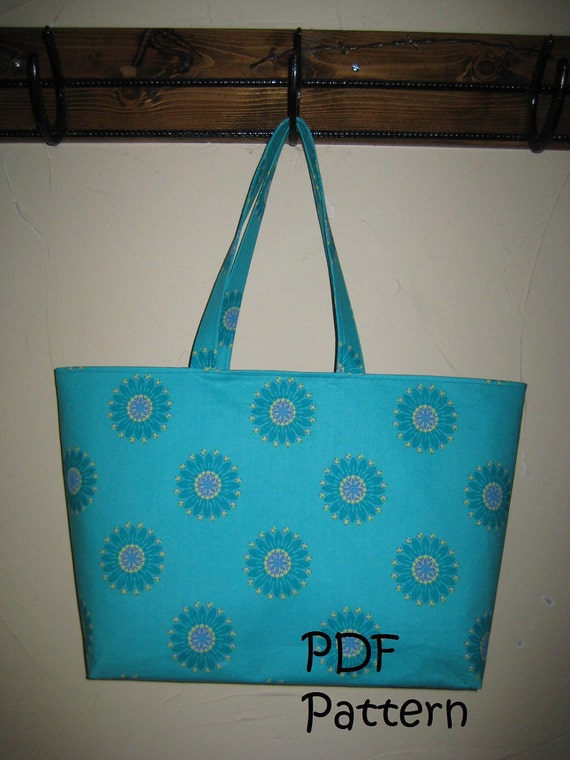 PATTERN for Beach Tote Bag PDF