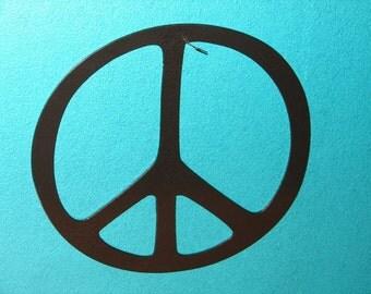 Peace sign wall art | Etsy