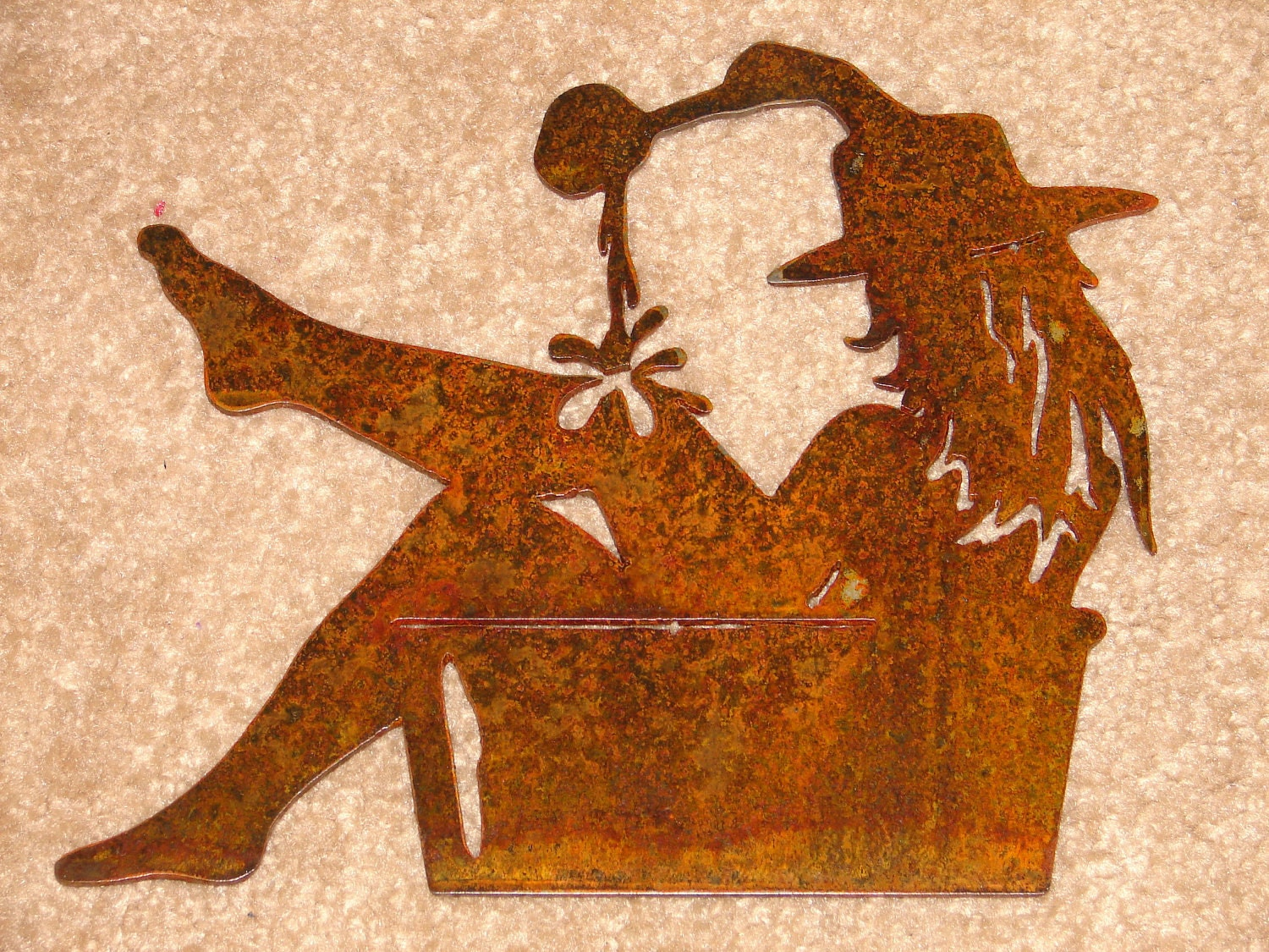 Kotel Decoration : Western wall plaque cowgirl sign home decor