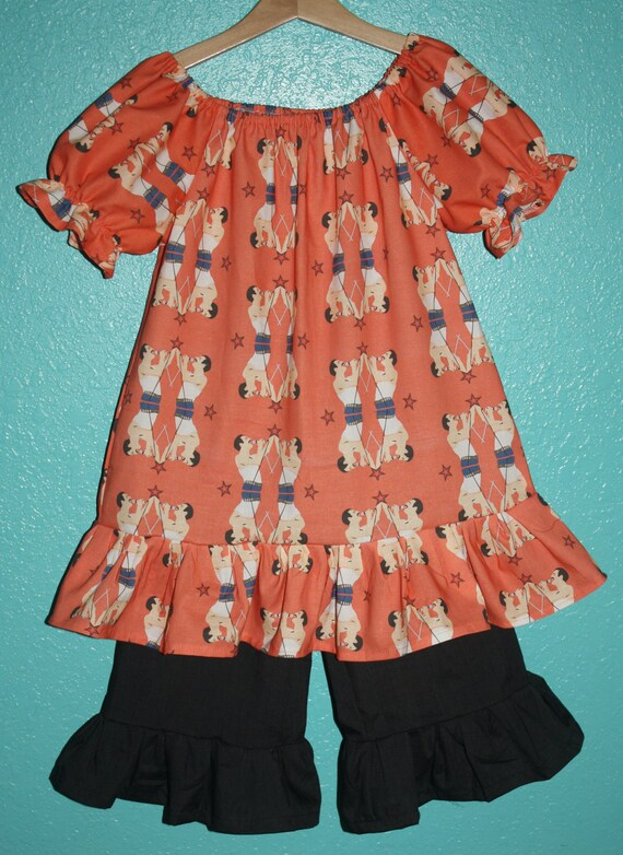 FREDDIE MERCURY custom fabric toddler dress... Size 3/4