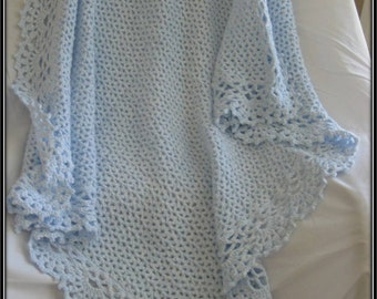 Crochet Keepsake Baby Afghan