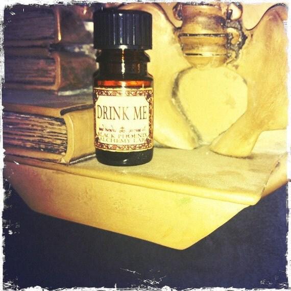 Drink Me: Black Phoenix Alchemy Lab Alice in Wonderland Perfume Oil 5ml