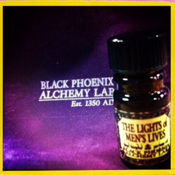 The Lights of Men's Lives: Black Phoenix Alchemy Lab Perfume Oil 5ml