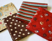 Kids' Cloth Napkins - Pirate Assortment