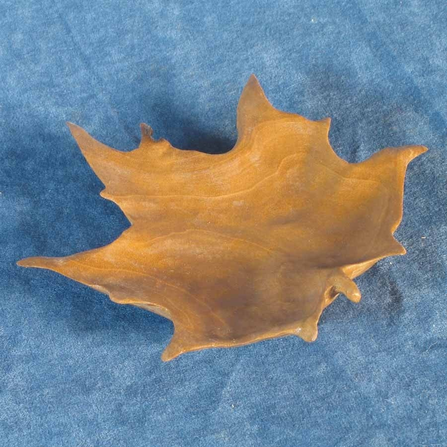 Maple leaf carving