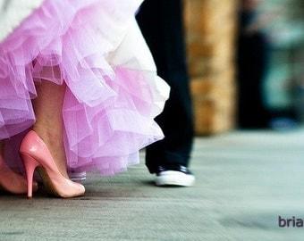 Hand Dyed Cotton Candy Pink Crinoline - Pink Tulle Skirt - Aline Crinoline, Extra Full Crinoline, Mermaid Crinoline